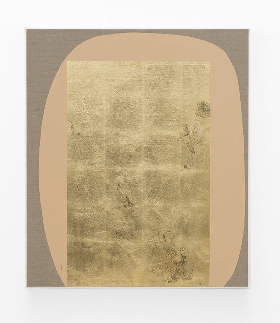 , 'Hair orchid sweat print, peach form,' 2018, SMAC