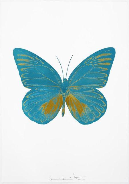 , 'The Souls I - Turquoise - Oriental Gold,' 2010, Samuel Owen Gallery