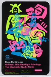 Ryan McGinness, 'Women: The Blacklight Paintings (three exhibition posters),' 2011, Heritage Auctions: Valentine's Day Prints & Multiples