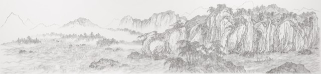 , 'Imitating Red Cliff by Yang Shixian, Southern Song Dynasty, mid 12th century,' 2013, Tina Keng Gallery