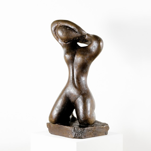 , 'Woman Combing Her Hair,' Design 1945-cast 2011, Galerie Bei Der Albertina Zetter