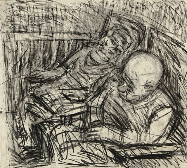 , 'Two seated figures V,' , Castlegate House Gallery