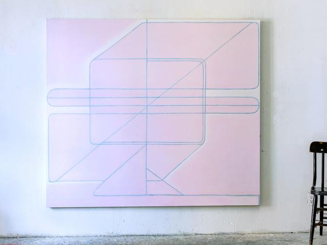 , 'Composition en RRose,' 2017, SILAS VON MORISSE gallery