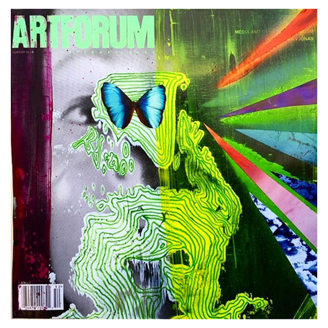 , 'Altered Artforum #15,' 2016, Klowden Mann