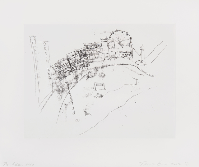 Tracey Emin, 'The Golden Mile', 2012, Tate Ward Auctions