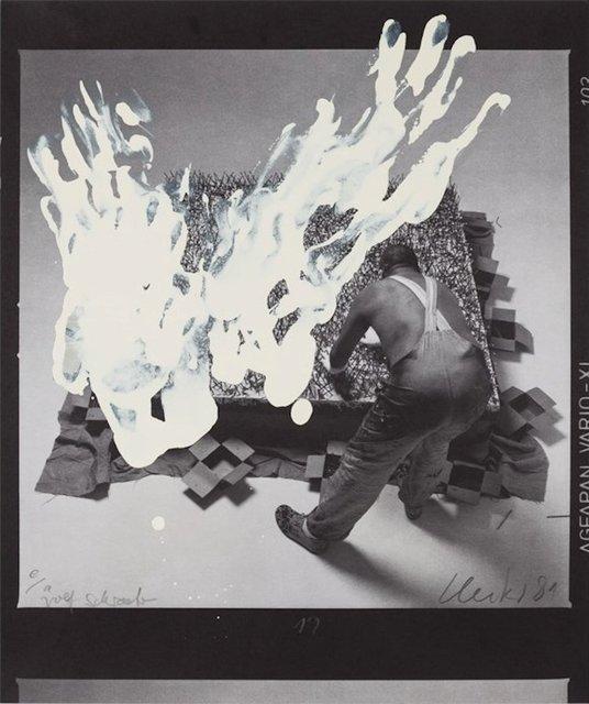 Günther Uecker, 'Entwicklung eines Werkes III (Formumwandlungen)', 1981, ARTEDIO