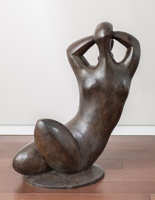 , 'Femme à la chevelure tressée,' 1990, Rosenberg & Co.