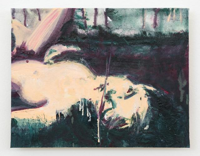 , 'Rite of Spring, Study 2,' 2017, Nina Johnson
