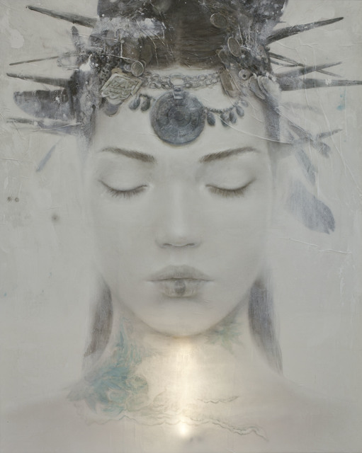 , 'Goddesses of Nibiru XI,' 2014, Miguel Marcos