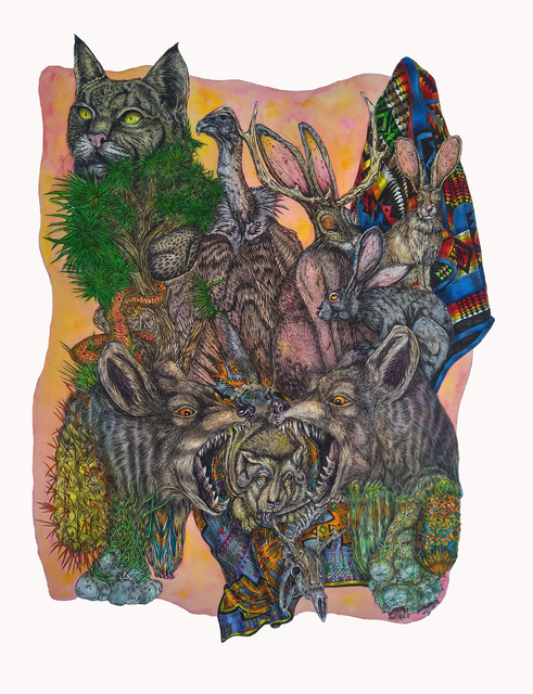 , 'American Psychedelic,' 2016, Galerie Hervé Lancelin