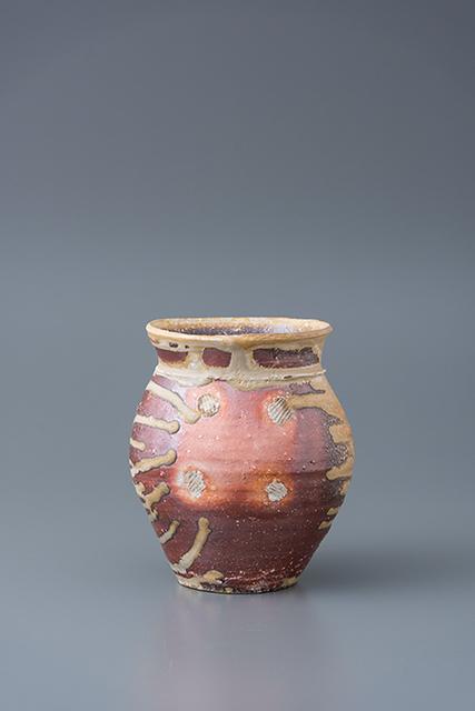 , 'Vase, yohen natural ash glaze,' 2018, Pucker Gallery