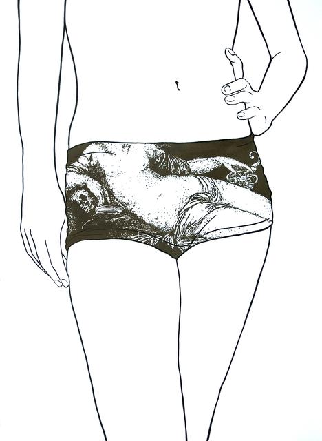 , 'Untitled (Eva prima Pandora by Jean Cousin l'Ancien),' 2016, Lois Lambert Gallery