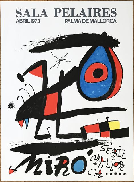 """, 'Affiche pour l' exposition """"Serie Mallorca"""". Sala Pelaires,Palma de Mallorca.,' 1973, Fairhead Fine Art Limited"""
