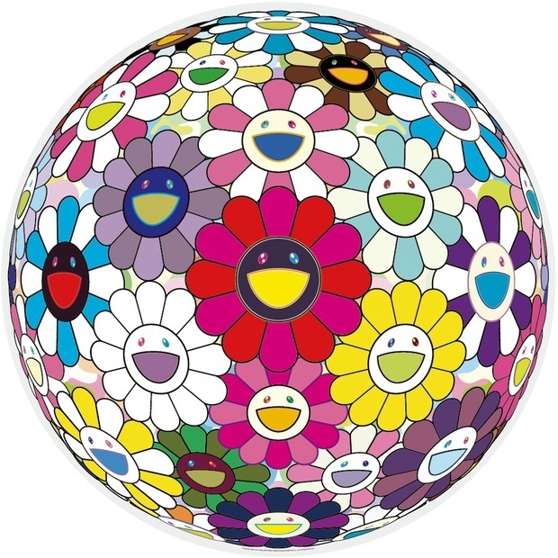 Takashi Murakami, 'Flowerball: Open Your Hands Wide', 2015, Vogtle Contemporary