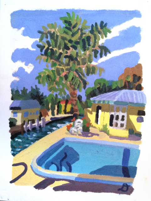Daniel Heidkamp, 'Key Duck', 2012, Drawing, Collage or other Work on Paper, Oil on paper, Sean Horton (presents)