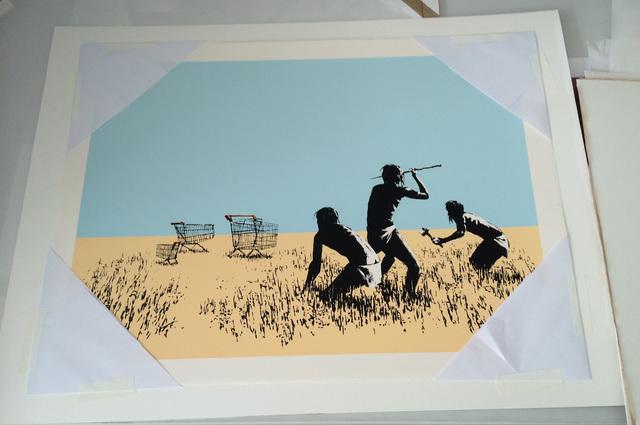 Banksy, 'Color Trolleys', 2009, IFAC Arts