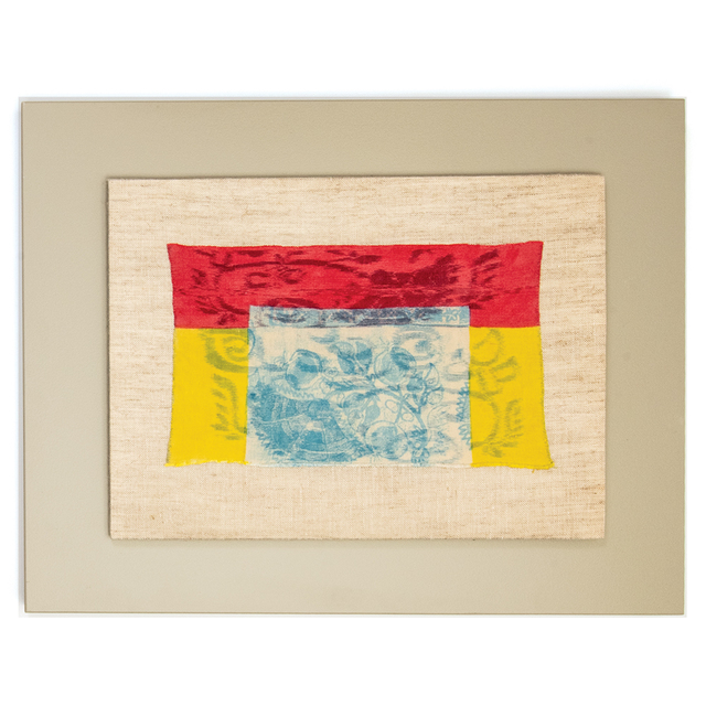 Ed Rossbach, 'Turkish Embroidery Red Yellow Blue', 1972, browngrotta arts