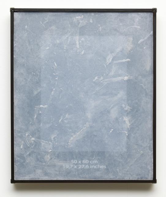 , '50 x 60 cm,' 2015, Dürst Britt & Mayhew