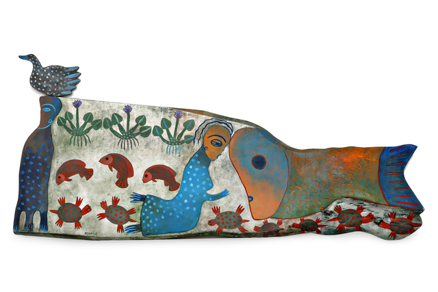 Manuel Mendive, 'Aguas Dulces ', 2003, Latin Art Core