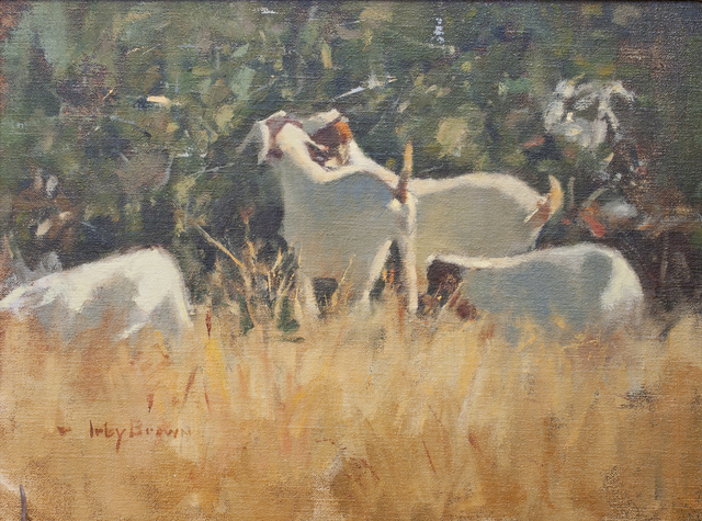 , 'Eating Juniper Berries,' , Ventana Fine Art