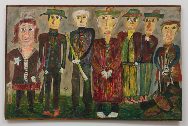 , 'Untitled (Seven Figures, Green Hats),' 1969, The Good Luck Gallery