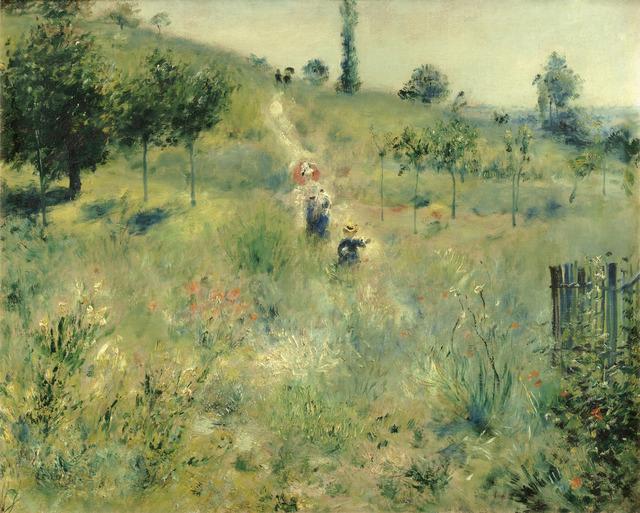 , 'Path Leading Through Tall Grass,' 1876, Alte Nationalgalerie