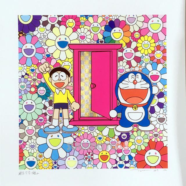 Takashi Murakami, 'DORAEMON: WE CAME TO THE FIELD OF FLOWERS THROUGH ANYWHERE DOOR (DOKODEMO DOOR) ', 2019, Dope! Gallery