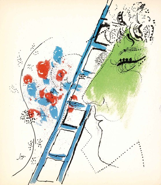 , 'The Ladder (Jacques Lassaigne, M.200),' 1957, Martin Lawrence Galleries