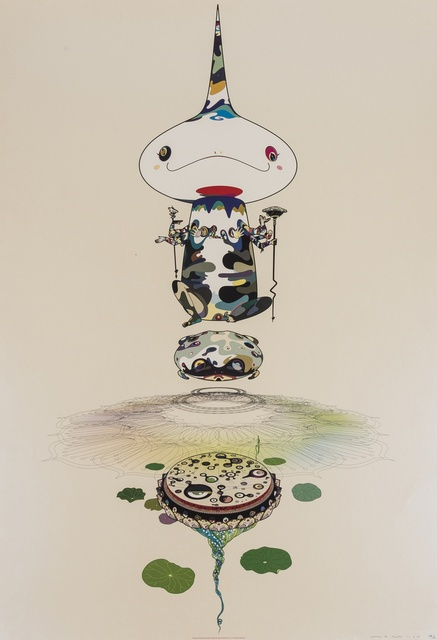 Takashi Murakami, 'Reversed Double Helix (Kaikai Kiki Gallery p.41)', 2005, Forum Auctions