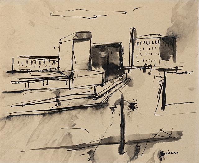 Mario Sironi, 'Untitled', Il Ponte
