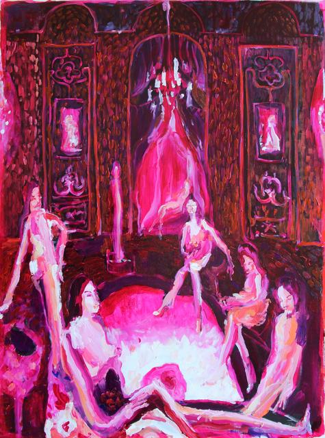 , 'Clara Bow Boudoir,' 2016, Sim Smith