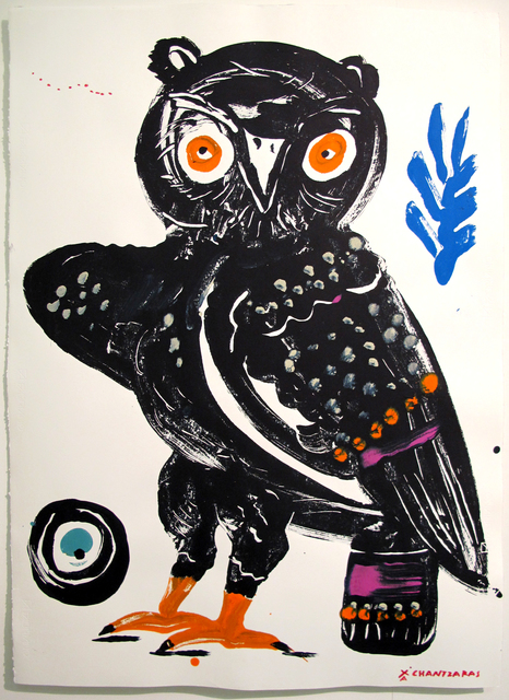 , 'Owl # 1 - The Wise Guys,' 2017, DECORAZONgallery