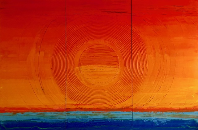 , 'Sol Triptych,' , Calvin Charles Gallery
