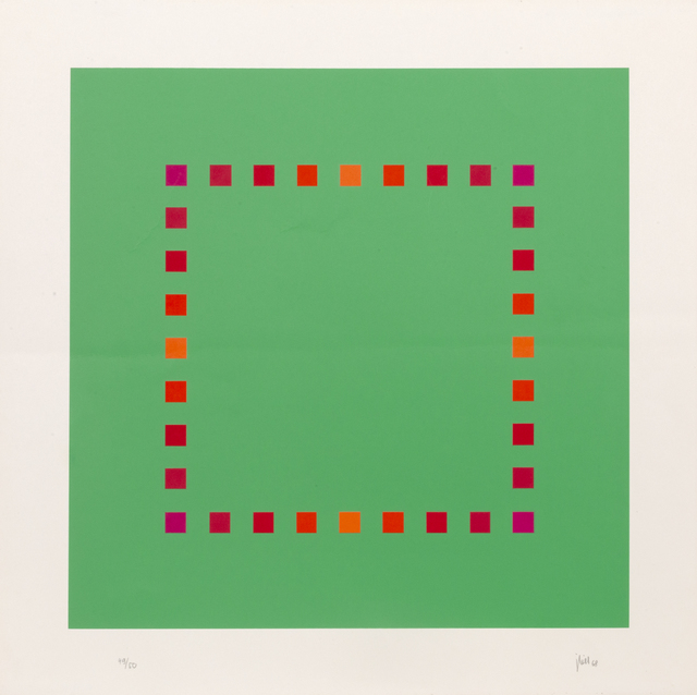 Jakob Bill, 'Green Square', 1968, RoGallery