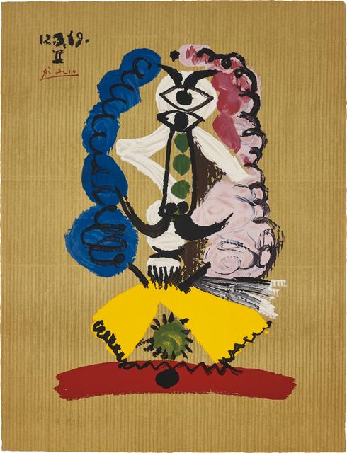 Pablo Picasso, 'Portrait imaginaire (Imaginary Portraits): one plate', 1969, Phillips