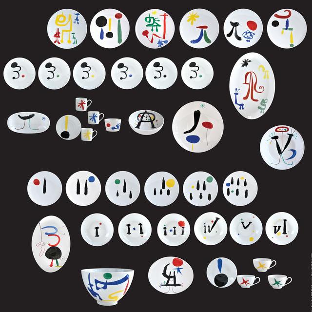 Joan Miró, 'PARLER SEUL', 2018, Bernardaud