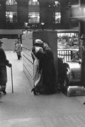 Penn Station, New York, NY (Couple at Lockers)