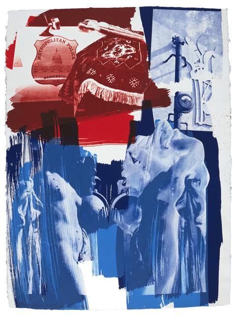 Robert Rauschenberg, 'Blues', 1992, Upsilon Gallery