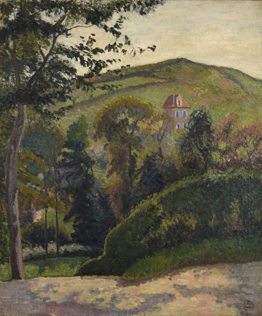 , 'The Hillside, Berneval,' 1900, Russell Collection