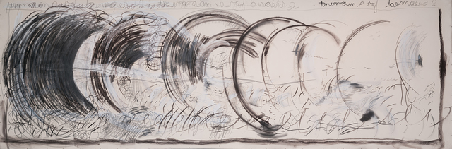 , 'Long Drawing Wave,' 1986, Ochi Projects