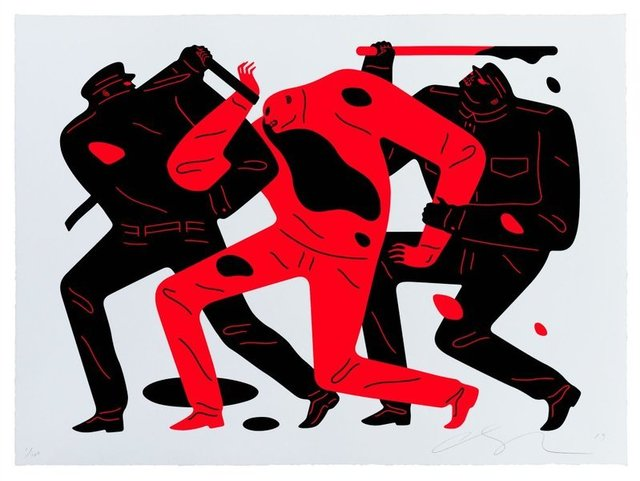 Cleon Peterson, 'The disappearance ', 2019, AYNAC Gallery