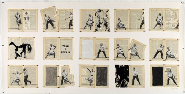 , 'Tear and Repair,' 2013, Goodman Gallery