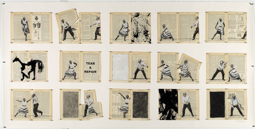 William Kentridge, 'Tear and Repair,' 2013, Goodman Gallery