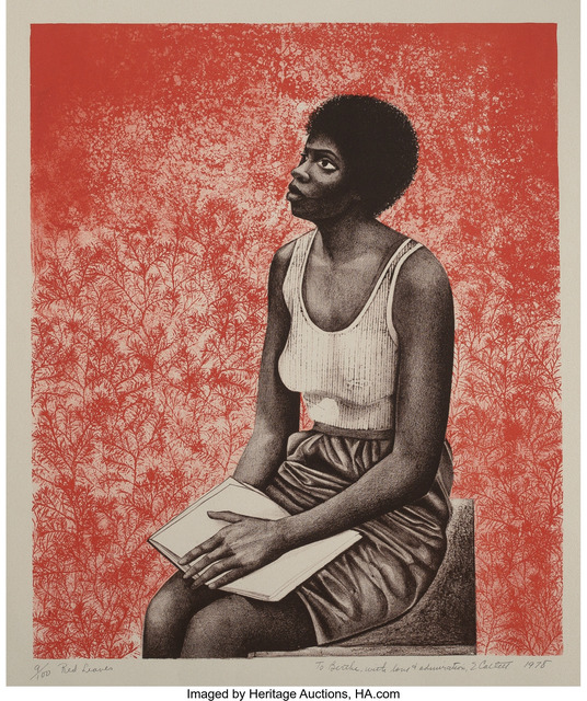 Elizabeth Catlett, 'Red Leaves', 1978, Heritage Auctions