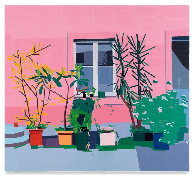 Guy Yanai, 'Almine Rech Courtyard', 2019, Miles McEnery Gallery