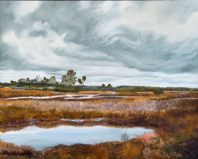 , 'Gator Hole, Savannas,' 2012, Geoffrey C. Smith Galleries