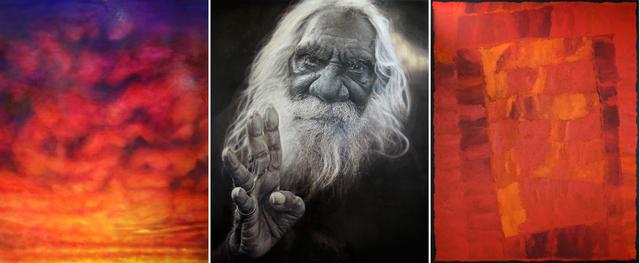 , 'Kudditji Kngwarreye Triptych,' 2016, Nanda Hobbs Contemporary