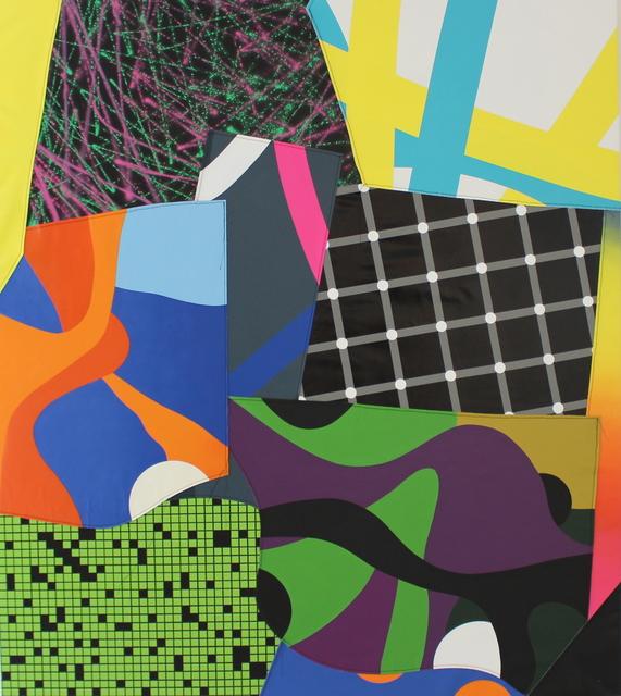 , 'SCHÖPFUNG (Serie FLICKWERK™),' 2017, Galerie Droste