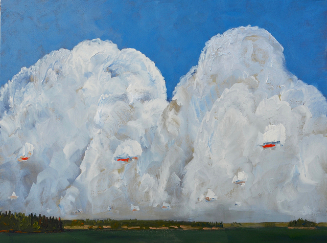 Gregory Hardy, 'Big White Cloud', 2018, Wallace Galleries