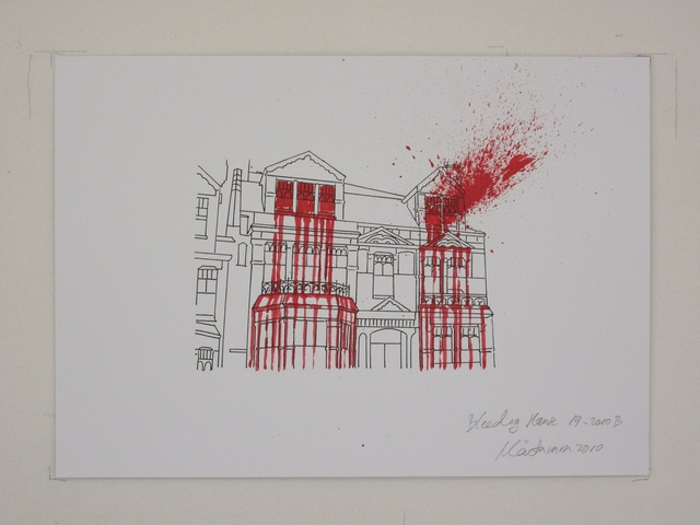 , 'Bleeding House 19-2010B,' 2010, Temnikova & Kasela